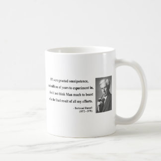 Bertrand Russell Quote 4b Coffee Mug