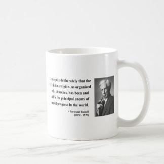 Bertrand Russell Quote 5b Mug