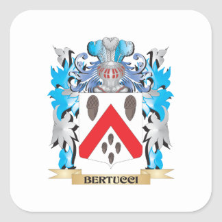 Bertucci Coat of Arms Stickers