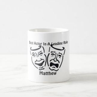 Best Actor/Leading Role: Matthew Coffee Mug