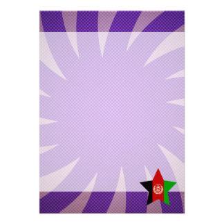 Best Afghanistan Flag Design 13 Cm X 18 Cm Invitation Card