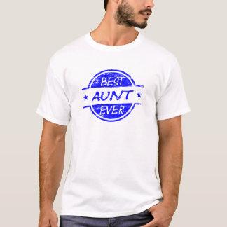 Best Aunt Ever Blue T-Shirt