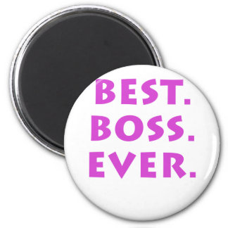 Best Boss Ever Magnet