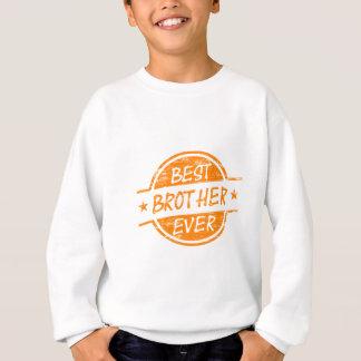 Best Brother Ever Orange Sweatshirt
