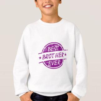 Best Brother Ever Purple Sweatshirt