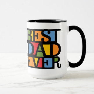 BEST DAD EVER mugs - choose style