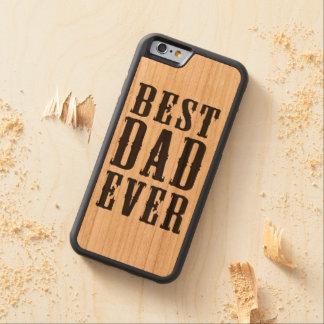 Best Dad Ever Wood Phone Case