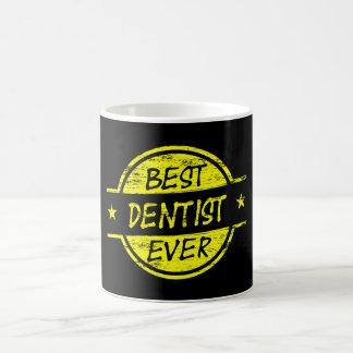 Best Dentist Ever Yellow Coffee Mug