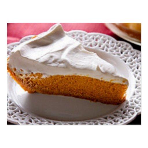 Best Ever Pumpkin Chiffon Pie Recipe Post Cards