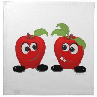 Best Friends Apples Napkin