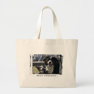 Best Friends Bernese Tote Bag
