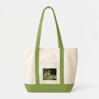 BEST FRIENDS by the CREEK by SHARON SHARPE Tote Bag