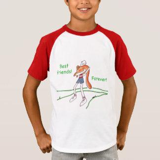 Best Friends Forever Cat T-Shirt, Customizable T-Shirt
