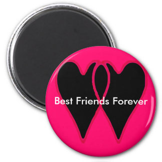 Best Friends Forever The MUSEUM Zazzle Gifts Refrigerator Magnets