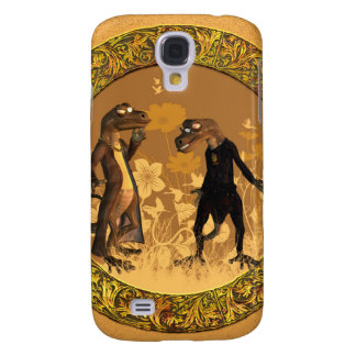 Best friends, funny geckos galaxy s4 case