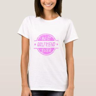 Best Girlfriend Ever Pink T-Shirt