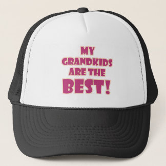 Best Grandkids Trucker Hat