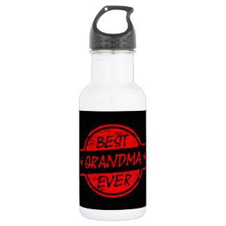 Best Grandma Ever Red 532 Ml Water Bottle