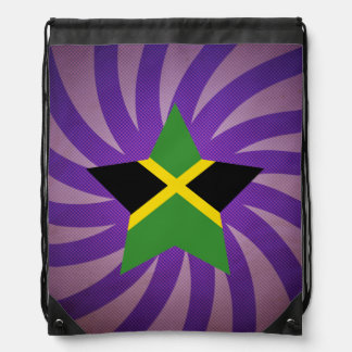 Best Jamaica Flag Design Drawstring Bag