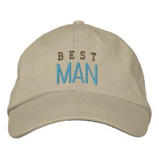 Best Man wedding spirit bachelor blue baseball cap