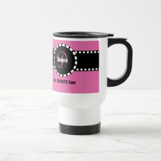 Best MIDWIFE Ever Monogram Custom Name V10 Travel Mug