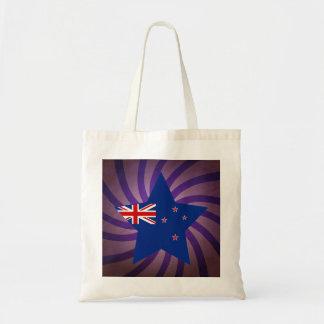 Best New Zealand Flag Design Budget Tote Bag