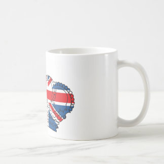 Best of British, Crown, Union Jack Coffee Mug