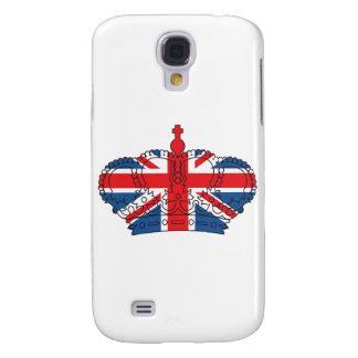Best of British, Crown, Union Jack Galaxy S4 Case