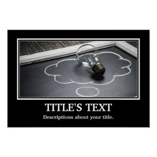 Best Personalise Photo & Text Poster