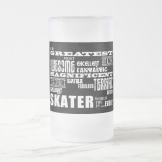 Best Skaters : Greatest Skater Frosted Glass Mug