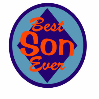 Best Son Ever Photo Cutouts