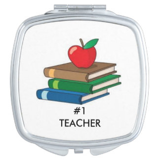 BEST TEACHER COMPACT MIRROR