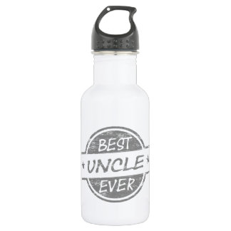 Best Uncle Ever Grey 532 Ml Water Bottle