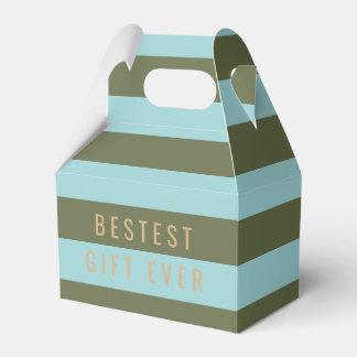 Origami Prints - Bestest Gift Ever Favor Box