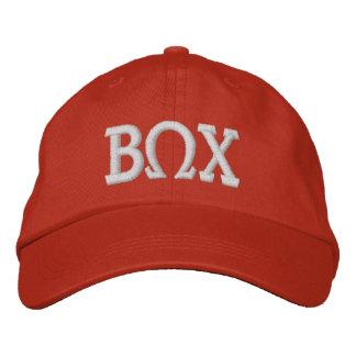 Beta Omega Chi Adjustable Embroidered Hat