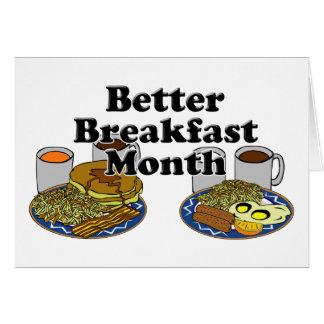 Better Breakfast Month Card