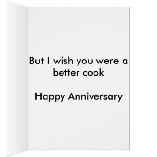 Better Cook Anniversary Card