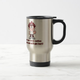Better share your coffee or...... stainless steel travel mug