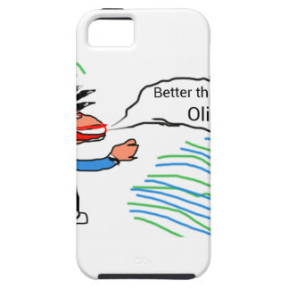 Better than Oliver? banner iPhone 5 Cases