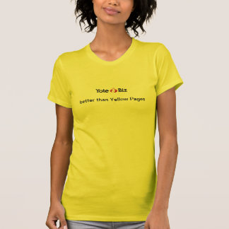 better than Yellow Pages T-Shirt