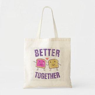 Better Together PBJ Tote Bag