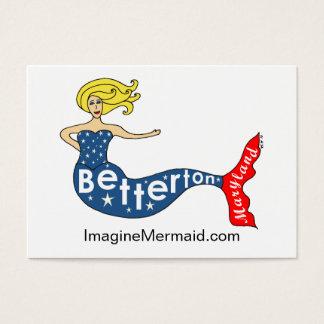 Betterton Mermaid at ImagineMermaid.com Business Card