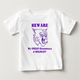 BEWARE of GREAT- Grandma! Child's T-Shirt