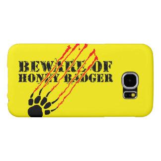 Beware of honey badger samsung galaxy s6 cases