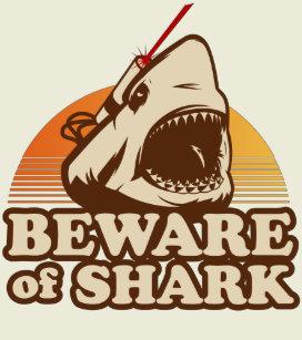 laser shark t shirts shirt designs zazzle co nz