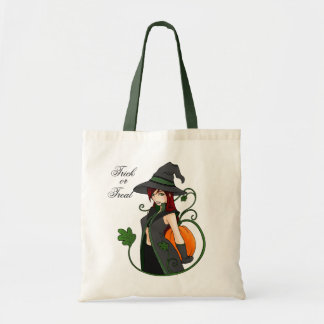 Bewitching Trick-or-Treat Tote Bag