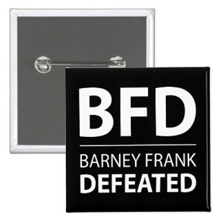BFD 15 CM SQUARE BADGE
