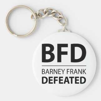 BFD BASIC ROUND BUTTON KEY RING