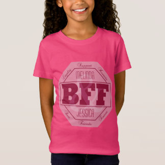 BFF Friendship - custom names - clothing T-Shirt