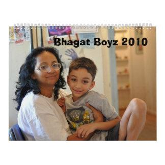 Bhagat Boyz 2010 Wall Calendar